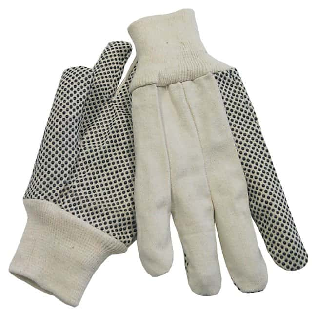 Fisherbrand Dotted Canvas Gloves 8 oz. (227g); Men's:Gloves, Glasses and