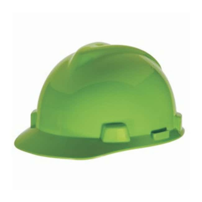 MSA™V-Gard™ Slotted Protective Cap with Fas-Trac™ Suspension