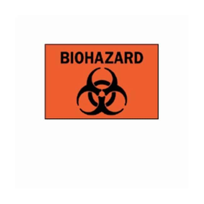 "Brady™""Biohazard"" with Pictogram Signs"