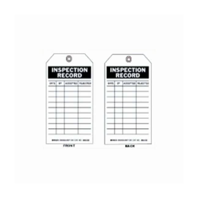 Brady™Inspection and Material Control Tags
