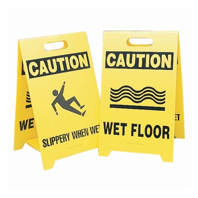 BradyReversible Floor Signs:Facility Safety and Maintenance:Signs and Tags