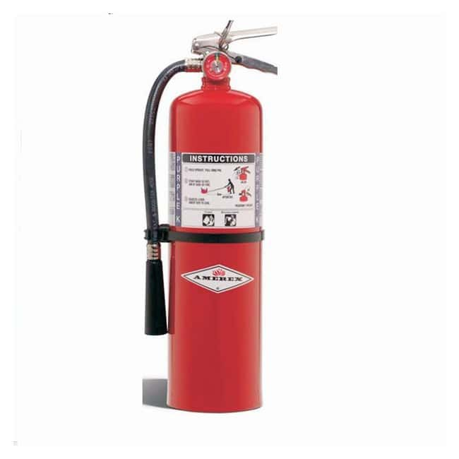 Amerex Purple K Dry Chemical Fire Extinguishers 10 lb.; With brass valve