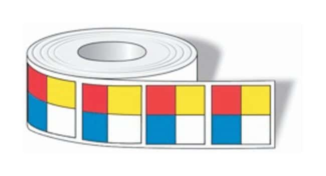 Accuform Signs NFPA Diamond Roll Labels Adhesive polyester; 6 x 6 in.;