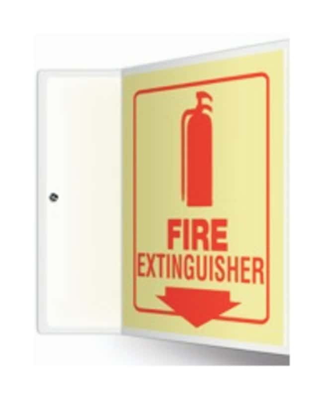 Accuform Signs Equipment Projection Signs: Fire Extinguisher