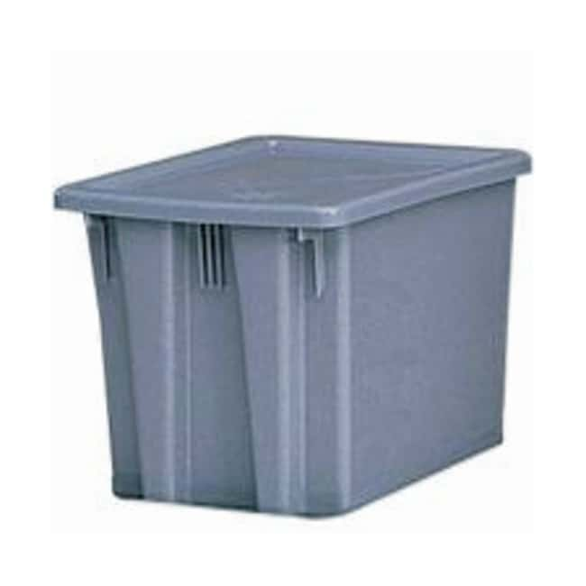 Essendant Rubbermaid Palletote Boxes and Lids Box; 19.5 x 15.5 x 13 in.