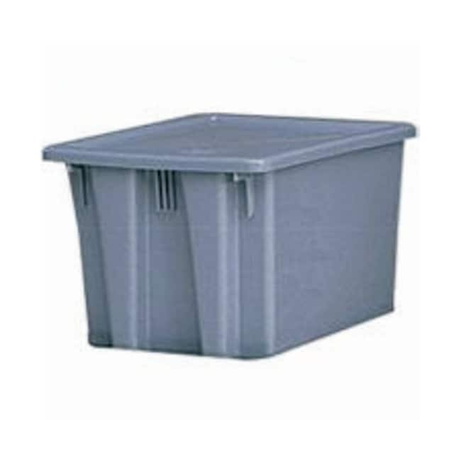 Essendant Rubbermaid Palletote Boxes and Lids Box; 23.5 x 19.5 x 10 in.