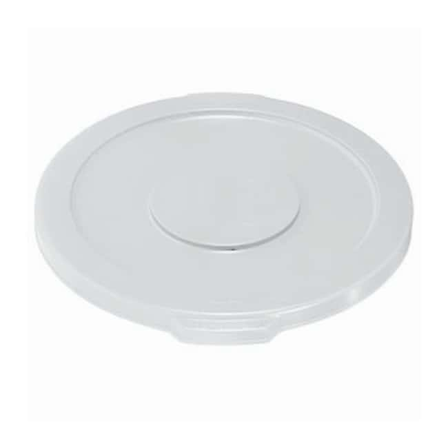 Essendant Round BRUTE Lids Lids for 32 gal. Brute (2632) Containers; White:Gloves,