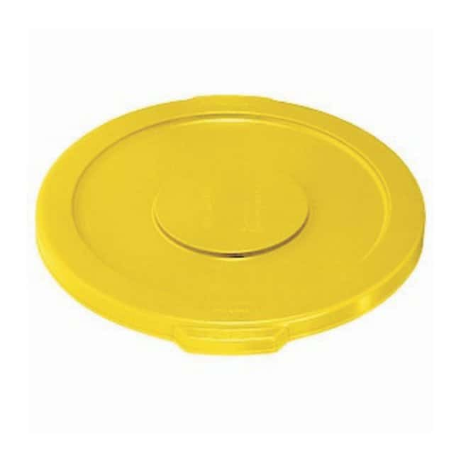 Essendant Round BRUTE Lids Lids for 32 gal. Brute (2632) Containers; Yellow:Gloves,