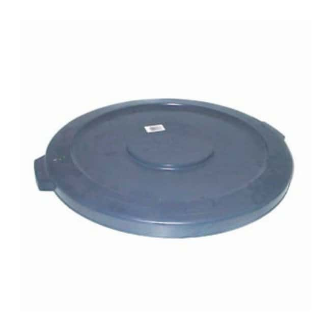 Essendant Round BRUTE Lids Lids for 44 gal. Brute (2643) Containers; Gray:Gloves,