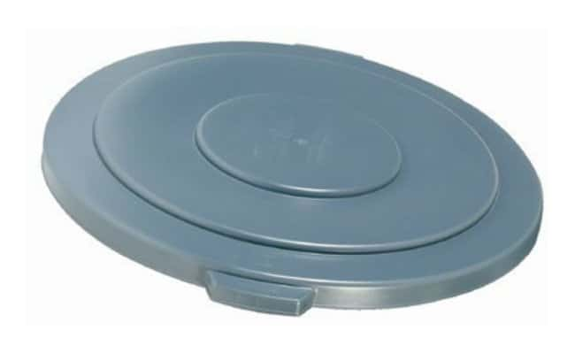 Essendant Round BRUTE Lids Lids for 55 gal. Brute (2655) Containers; Gray:Gloves,