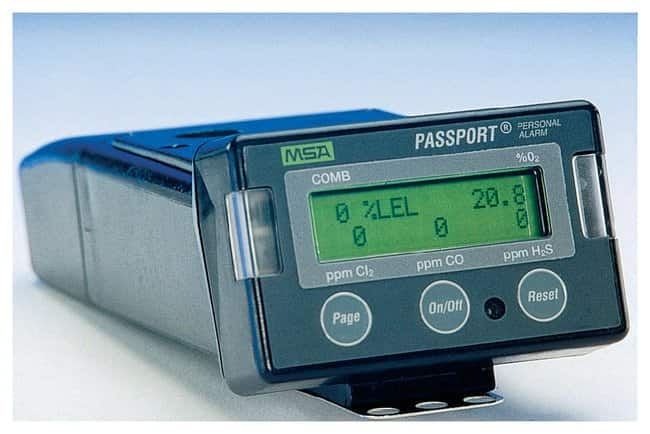 MSA Passport Personal Alarms:Gloves, Glasses and Safety:Chemical Monitoring
