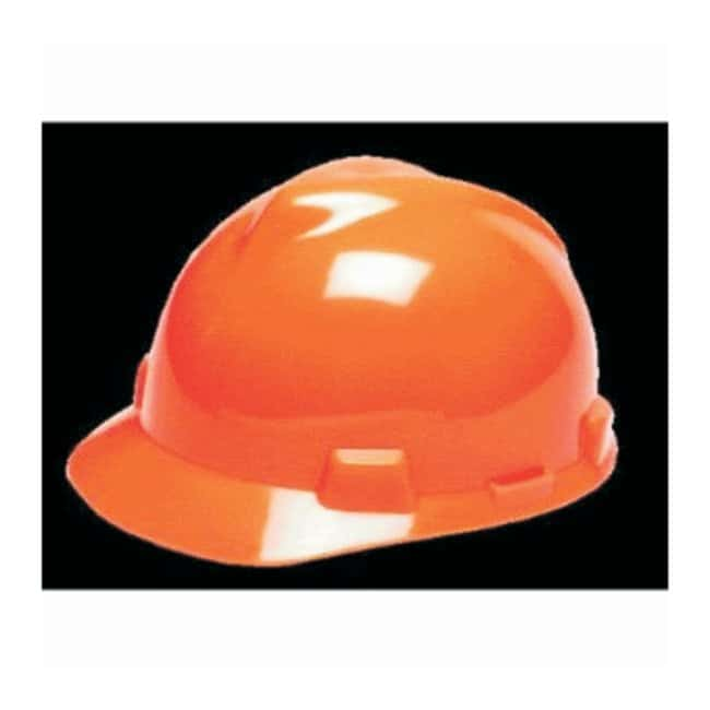 MSA V-Gard Protective Slotted Cap with Staz-On Suspension:Gloves, Glasses