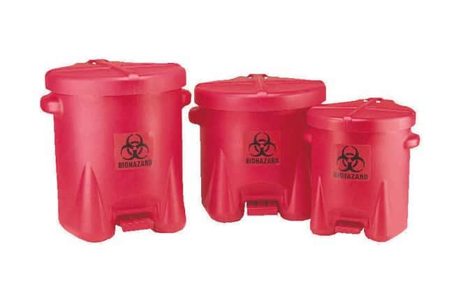 Eagle Step-On Biohazard Waste Containers:Gloves, Glasses and Safety:Hazardous
