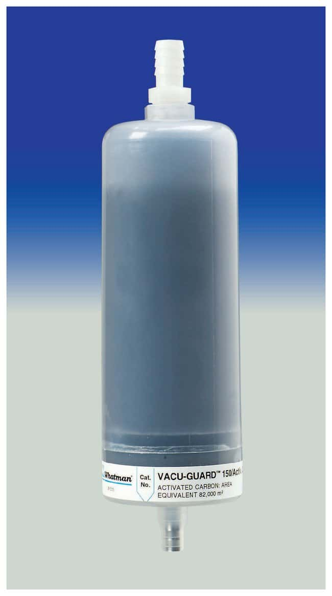 CytivaVACU-GUARD 150 ACTIV. CARBON/PTFE CARBON/PTFE Chemisches Fallenmedium: Aktivkohle Capsules and Inline Filters