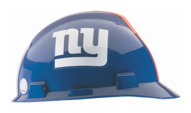MSA NFL V-Gard Caps New York Giants logo:Gloves, Glasses and Safety