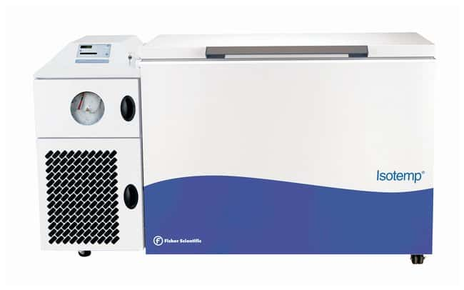 Fisherbrand™ Isotemp™ -86°C Ultra-Low Temperature Chest Freezers, 12.7 cu. ft. Capacity: 12.7 cu. ft. (359.6L); 230V/50Hz 12A Fisherbrand™ Isotemp™ -86°C Ultra-Low Temperature Chest Freezers, 12.7 cu. ft.