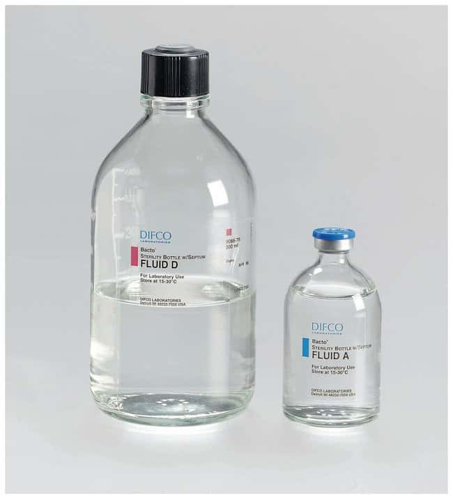 BD Prepared Bottled Media: Fluid Thioglycollate (Double Wrapped) Fluid
