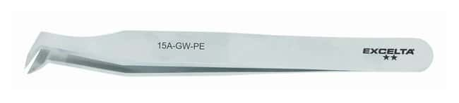 Excelta High Precision Angulated Cutting Tweezers: Carbon Steel:Spatulas,