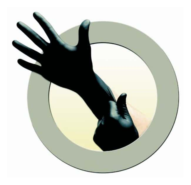 Microflex Black Dragon Zero Nitrile Exam Gloves Length: 245mm; Cuff thickness: