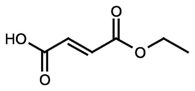 Fumaric acid monoethyl ester, 95%, Acros Organics 25g; Glass bottle Fumaric acid monoethyl ester, 95%, Acros Organics