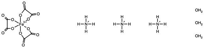 Alfa Aesar™Ammonium iron(III) oxalate hydrate 50g Alfa Aesar™Ammonium iron(III) oxalate hydrate