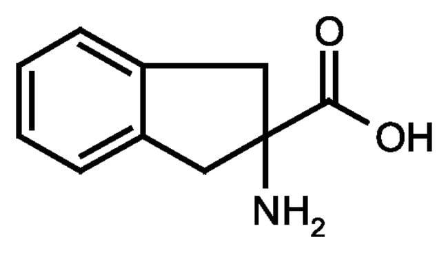 2-Aminoindan-2-carboxylic acid hydrate, 97%, ACROS Organics