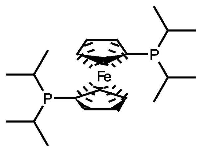 1,1'-Bis(diisopropylphosphino)ferrocene, 98%, ACROS Organics