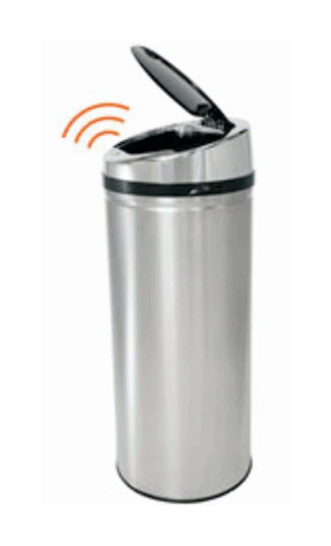 iTouchlessStainless-Steel Touchless Trashcan NX Capacity: 8 gal.:Facility
