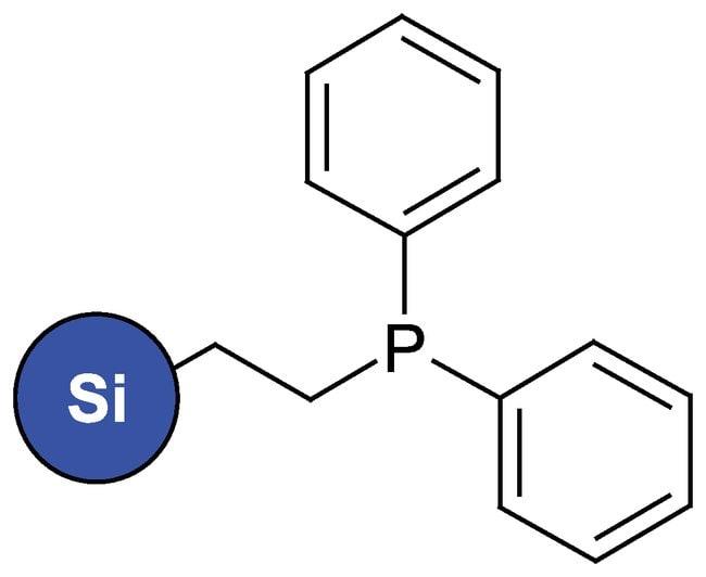 Silicagel, functionalized, Diphenylphosphinoethyl, ca. 0.7mmol/g, ACROS