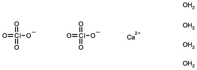 Calcium perchlorate tetrahydrate, pure, ACROS Organics™ 100g; Glass bottle Calcium perchlorate tetrahydrate, pure, ACROS Organics™