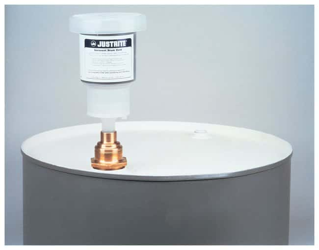 JustriteAerovent Drum Vent For 2 in. bung with filter and one extra replacement