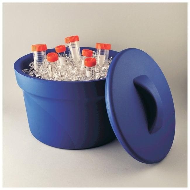 Bel-Art™Magic Touch 2™ Ice Buckets Blue; 2.5L Bel-Art™Magic Touch 2™ Ice Buckets