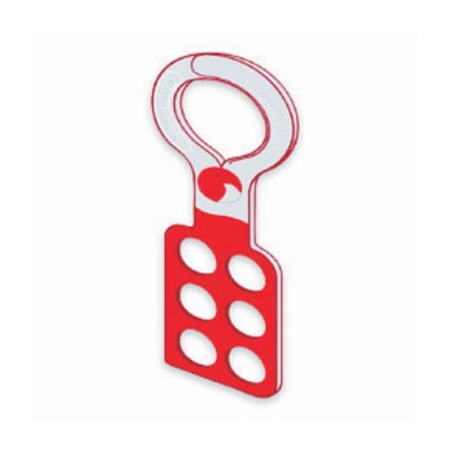 Honeywell M-Safe Lockout Hasps Lockout Hasps; Single Scissor; Steel with