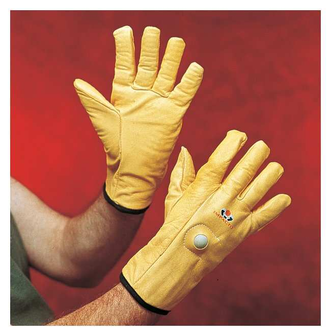 Impacto Anti-Vibration Leather Air Glove Large:Gloves, Glasses and Safety