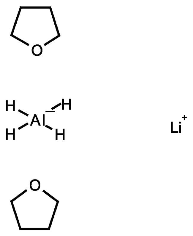 Lithium aluminium hydride bis(tetrahydrofuran), 1M solution in toluene, AcroSeal™, ACROS Organics™ 800mL; AcroSeal glass bottle Lithium aluminium hydride bis(tetrahydrofuran), 1M solution in toluene, AcroSeal™, ACROS Organics™