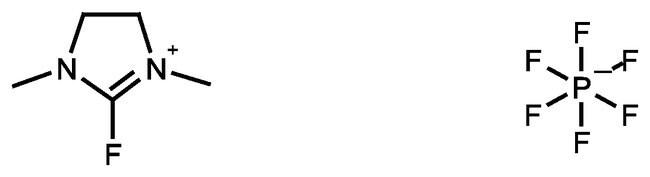 2-Fluoro-1,3-dimethylimidazolidinium hexafluorophosphate, 97%, ACROS Organics™