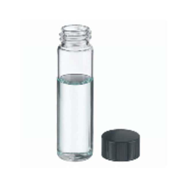 DWK Life SciencesBorosilikatglas-Probenfläschchen mit Schraubgewinde, Verschlusskappen mit PTFE-Einlage Clear; Cap: 13-425; 8mL DWK Life SciencesBorosilikatglas-Probenfläschchen mit Schraubgewinde, Verschlusskappen mit PTFE-Einlage