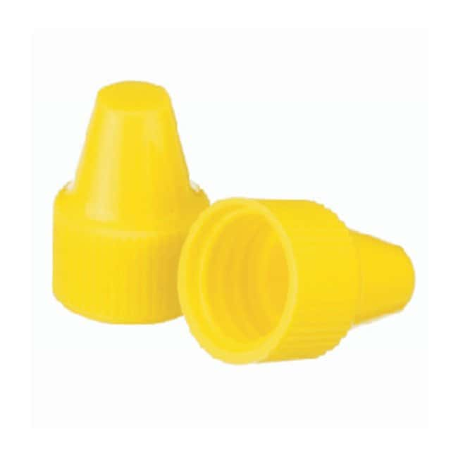 DWK Life SciencesWheaton™ Polypropylene Caps for Wheaton Dropping Bottles - Yellow