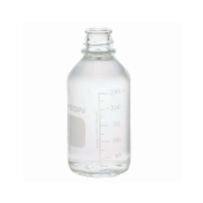 DWK Life Sciences Graduated Media/Lab Bottles: Clear Glass, Without Cap Transparent; graduiert mit Beschriftungsfeld; ohne Kappe Produkte