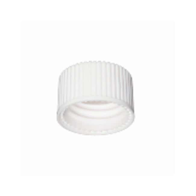 DWK Life Sciences Wheaton™ White Polypropylene Open-Top Caps w/PTFE Faced Silicone Liners for E-Z Ex-Traction™ Vials Fits 8mL vials; Cap size: 15mm-425; 250/Cs. products