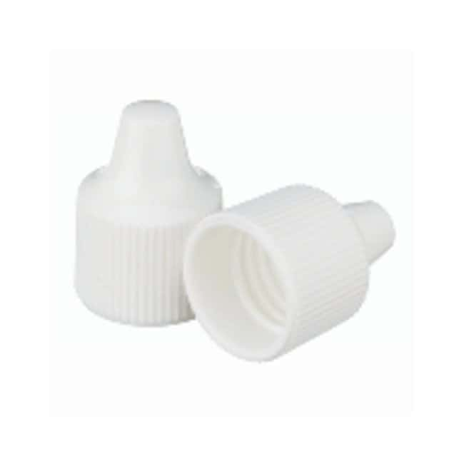 DWK Life SciencesWheaton™ Polypropylene Caps for Wheaton Dropping Bottles - White Screw cap size: 15-415; 1000/Cs. DWK Life SciencesWheaton™ Polypropylene Caps for Wheaton Dropping Bottles - White