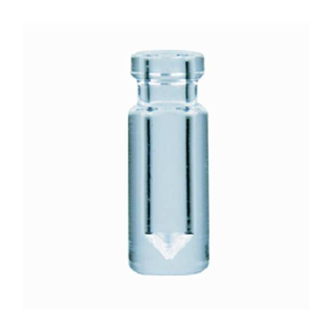 DWK Life Sciences Wheaton™ V Vial™ with Crimp Top Finish; no Closures 0.3mL; Closure size: 13mm DWK Life Sciences Wheaton™ V Vial™ with Crimp Top Finish; no Closures