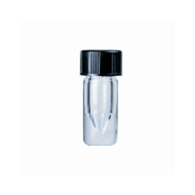 DWK Life Sciences Wheaton™ V Vial™ with Solid-Top Screw Cap, Clear: Sample Vials Vials