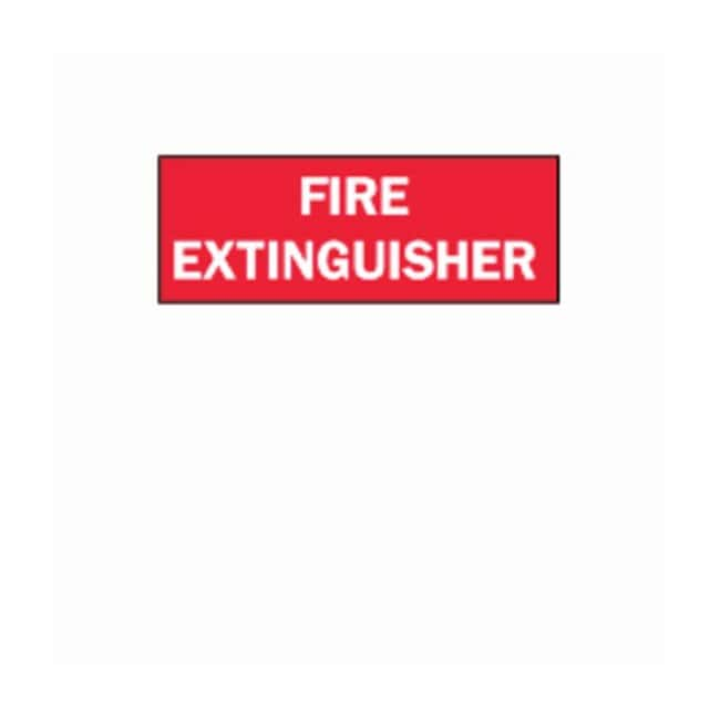 Brady™ Fire Extinguisher Signs