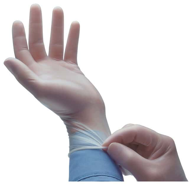 Ansell VersaTouch Disposable Vinyl Gloves  Clear; Powder-free; Size: X-Large:Gloves,