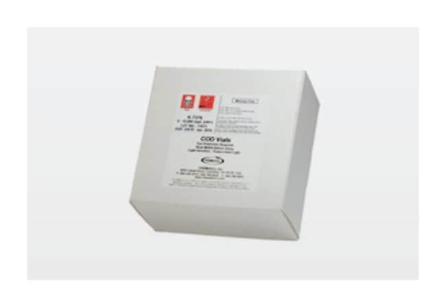 CHEMetrics™Mercury-Free COD Vials Kits Range: 0 - 15,000 ppm (HR+) CHEMetrics™Mercury-Free COD Vials Kits