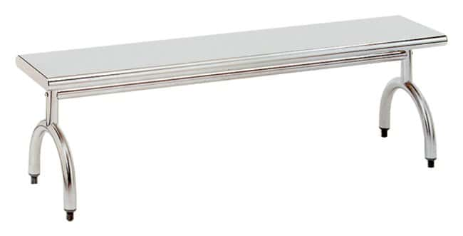 Advance TabcoStainless-Steel Gowning Benches 5 ft. Solid Top Gowning Bench:Furniture