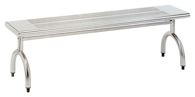 Advance TabcoStainless-Steel Gowning Benches 3 ft. Solid Top Gowning Bench:Furniture