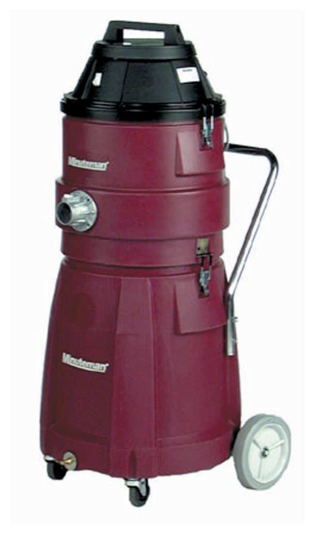 MinutemanX829 Series HEPA Vacuums Polyethylene tank; Tank capacity: 15