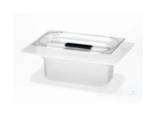 Fisherbrand™Acid Resistant Plastic Tubs for Ultrasonic Cleaners For S 100, S 100/H; S 120, S 120/H Fisherbrand™Acid Resistant Plastic Tubs for Ultrasonic Cleaners